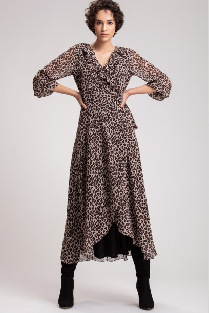 Natural Animal Maxi Dress