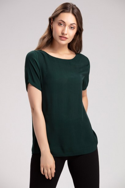 Emerald Green Top