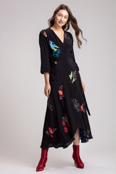 Betty Wrap Dress
