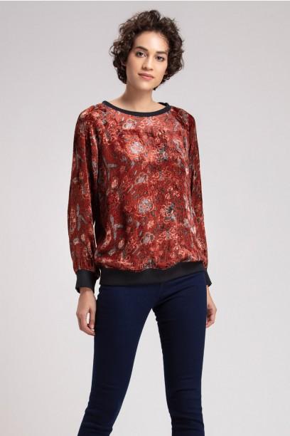 Tara Velvet Sweater