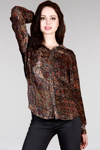 Orla Velvet Shirt
