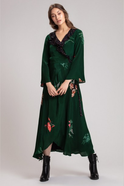 Mandy Wrap Dress
