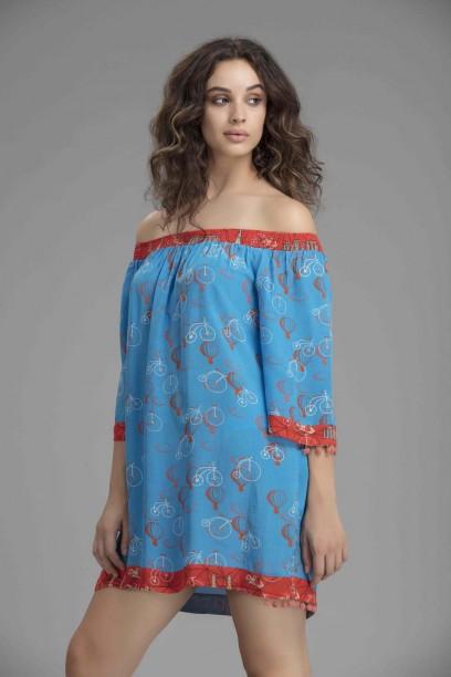 Audrey Off Shoulder Dress
