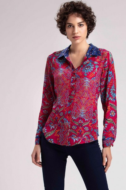Fuchsia ButtonDown Shirt