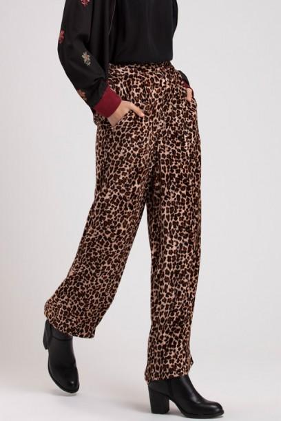 Natural Animal Velvet Pant