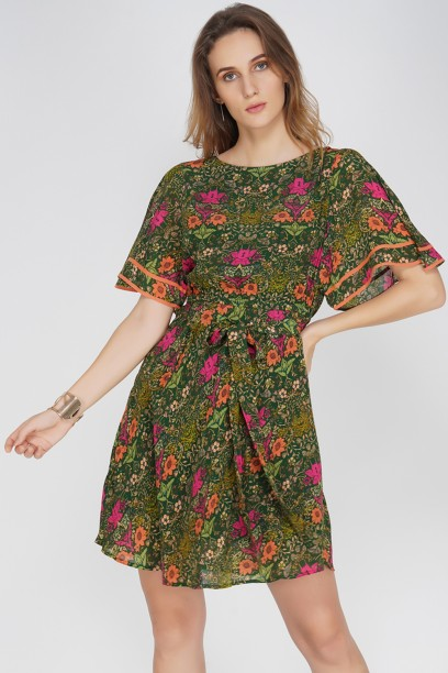 Sasha Bell Sleeve Dress