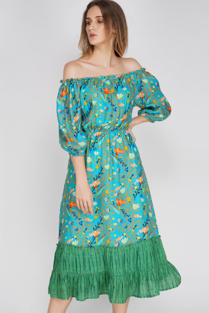 Adrian Off-Shoulder Dress