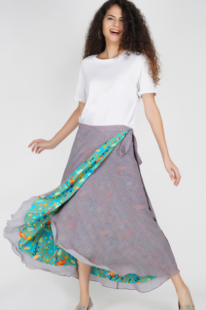 Duo Wrap Skirt
