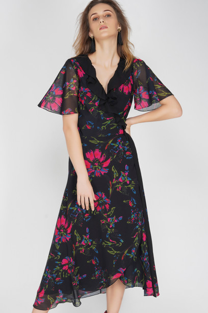 Estelle Wrap Dress