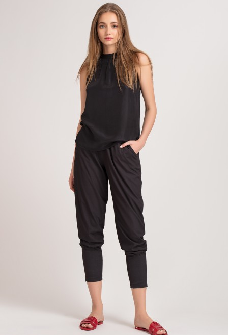 Black Jodhpur Pants