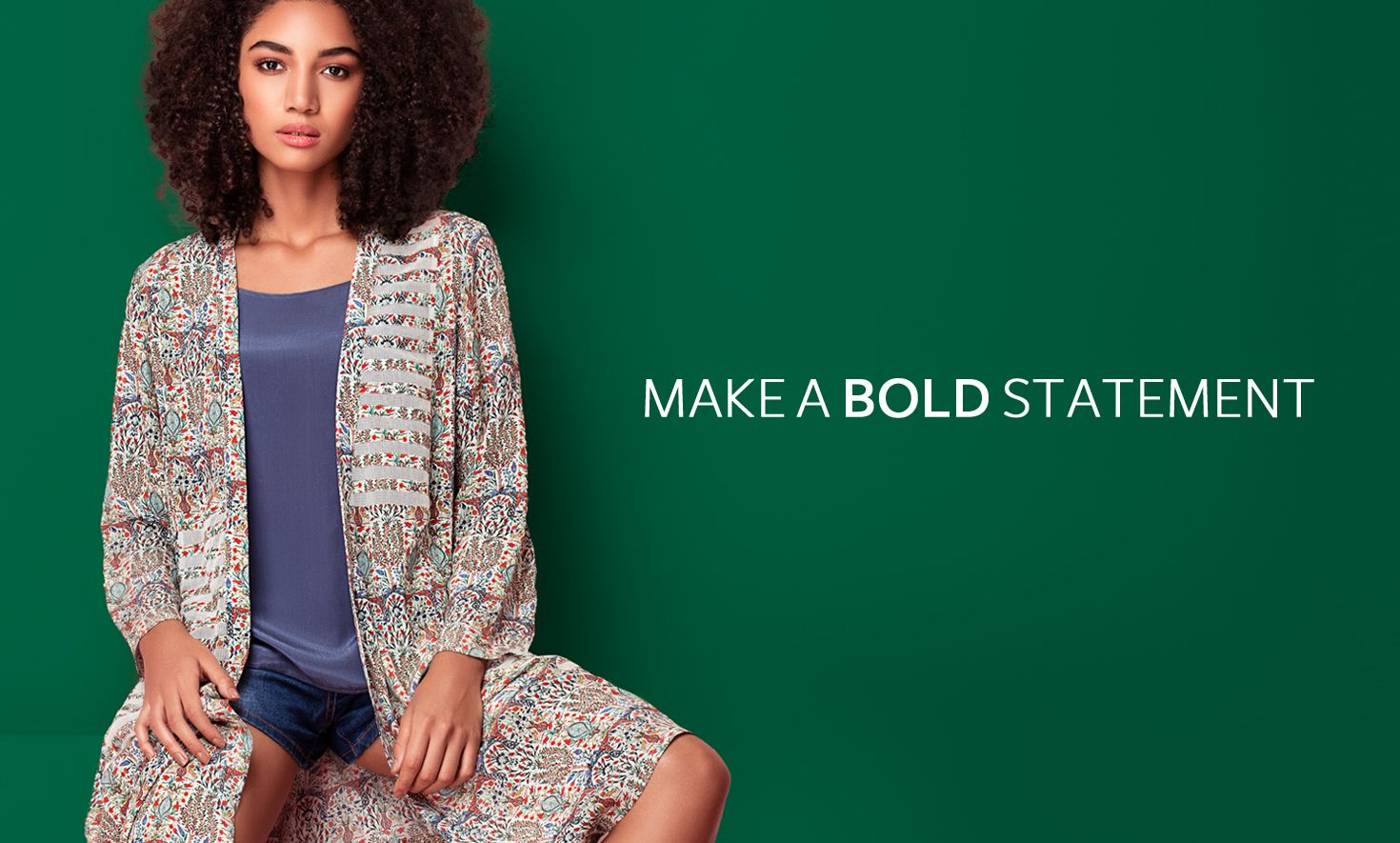 make a bold statement